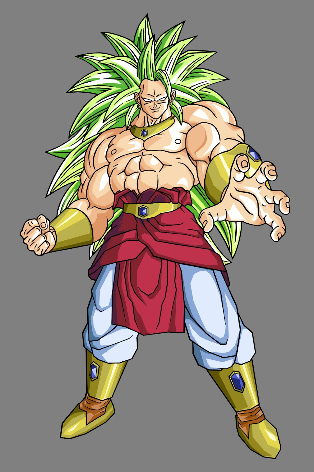 Dragon ball z wallpapers broly super saiyan 3 - Broly dragon ball gt ...
