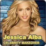 Jessica Alba Celebrity Makeover Game