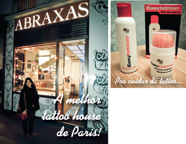 Bárbara Urias -  Minha tatuagem feita em Paris - L'essentiel est invisible pour les yeux
