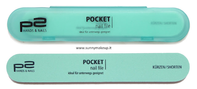 P2 cosmetics -  Pocket Nail File.