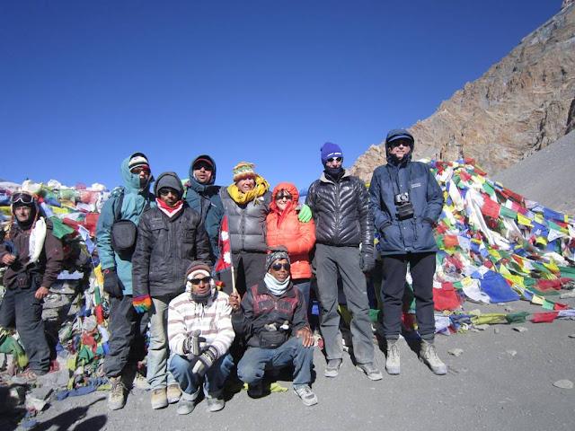 Throng-la top Round annapurna trek
