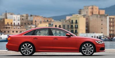 2012 Audi A6 Red Profile