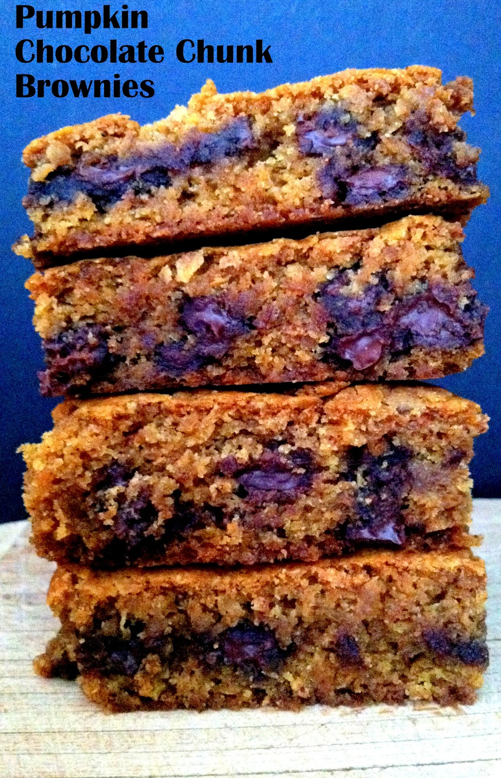... Frustrated Cowgirl: Recipe Round-Up: Pumpkin Chocolate Chunk Brownies