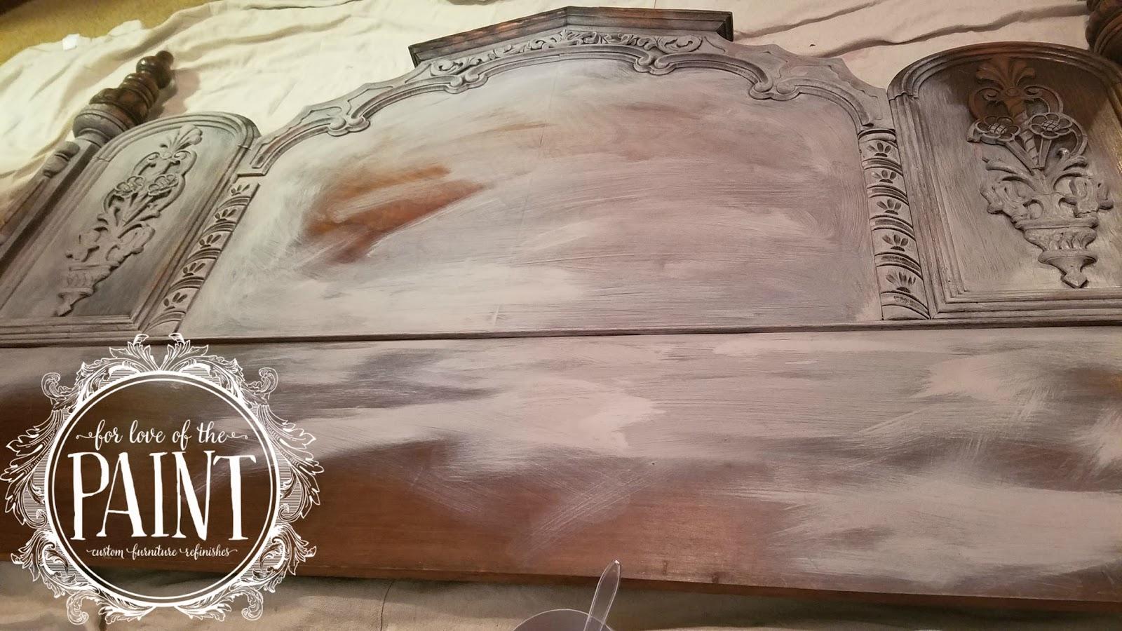 Ornate headboard
