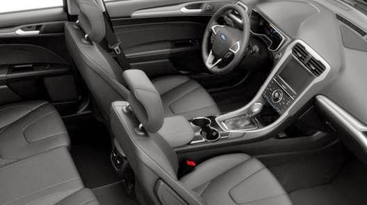 2015 Ford Fusion Hybrid Titanium Interior