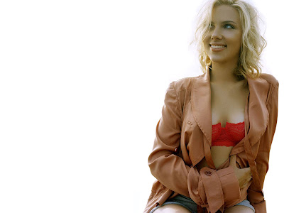 Scarlett Johansson-Beautiful sweet Wallpaper