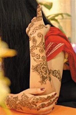 Full Hand Pakistani Mehndi designs