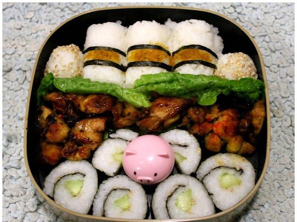 Mittags-Bento 4 + Gewinner ♥