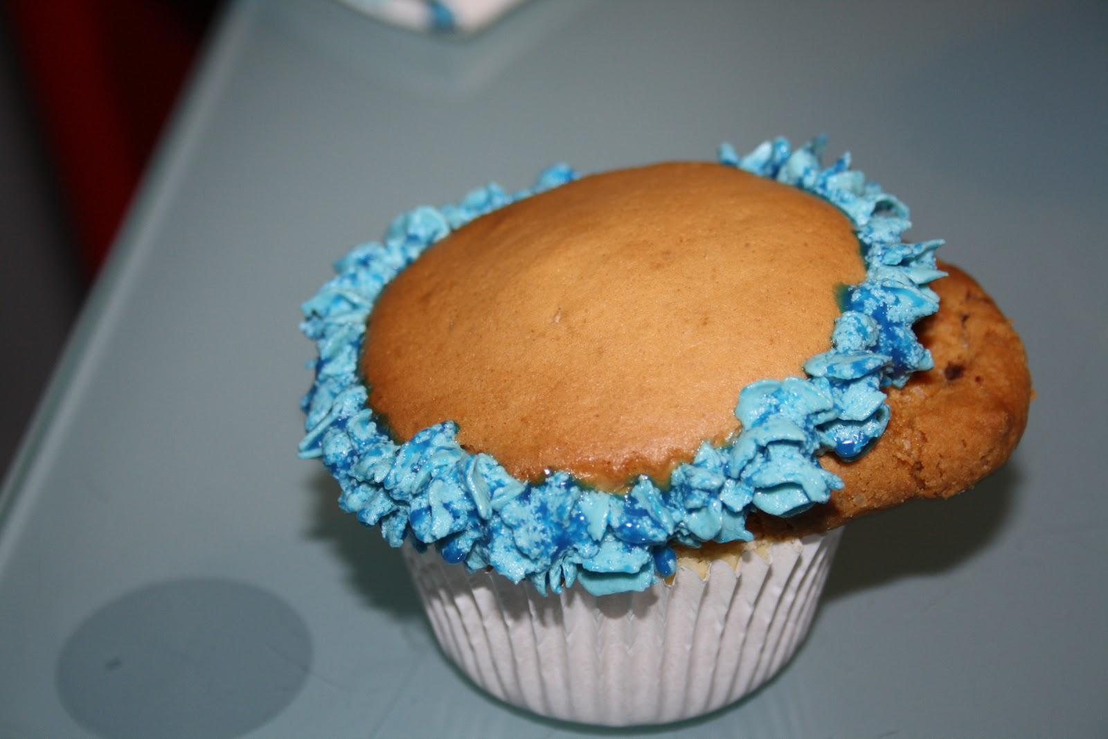 cookie monster cupcake rezept