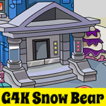 Games4King Snow Bear Escape Walkthrough