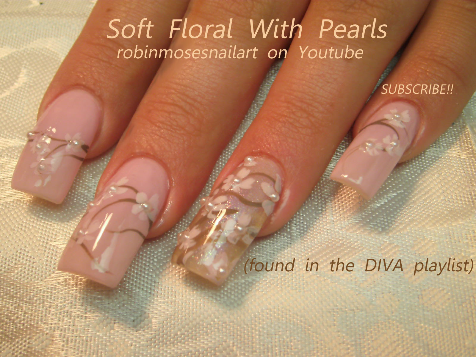 Nail art design robinmosesnailart april showers bring may robinmosesnailart april showers bring may flowers robin moses long wedding nails wedding nails with pearls long neutral nails lavender flower nail prinsesfo Image collections