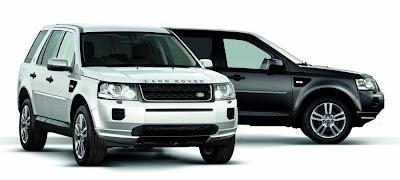 Land Rover Freelander 2 Black and White (2013) Front Side