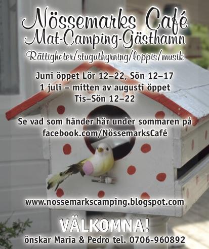 Nössemarks Café-Camping-Gästhamn & Stugor