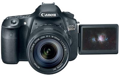 Fotografia della Canon EOS 60Da