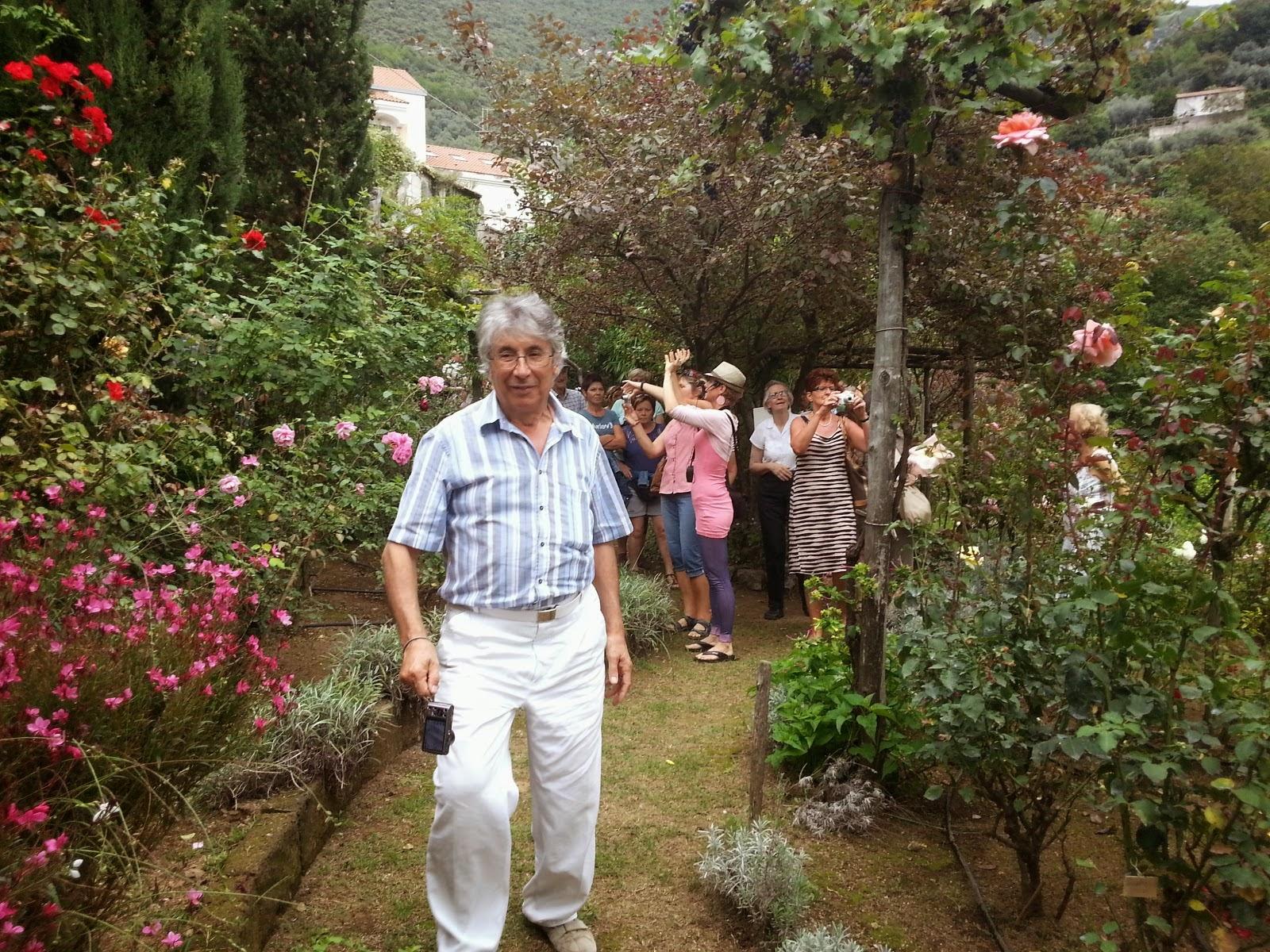 Il giardino segreto dell'anima in costa d'amalfi