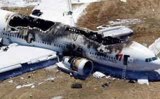 Pesawat Aman Kecelakaan