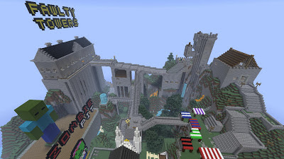 FPSXGames Minecraft server spawn