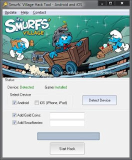 Adders - Hacks: Smurfs Village Hack Cheat Tool v2.77 Android & iOS