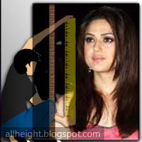 What is the height of Preity Zinta?