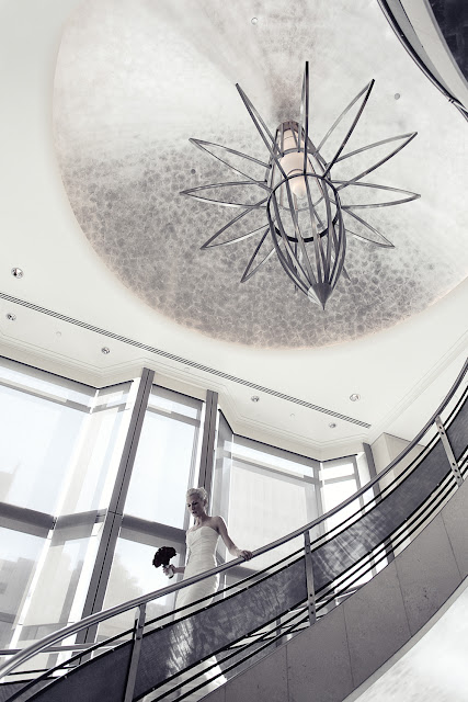 the westin melbourne wedding staircase