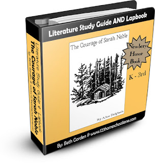 The Courage of Sarah Noble Study Guide & Lapbook