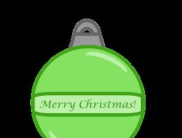 Free Printable Christmas Ornament Clip Art