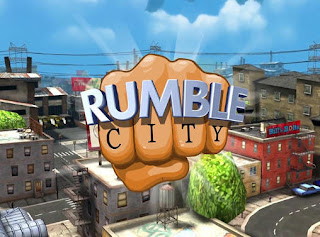 Screenshots of the Rumble city for Android tablet, phone.