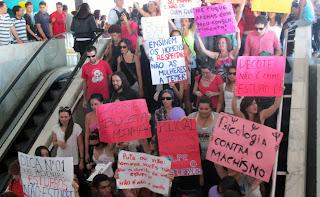 Marcha das Vadias em Brasília