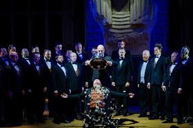 Peter Auty, Graeme Broadbent - Aida - Opera Holland Park - photo Robert Workman