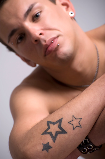 Star Tattoos For Men On Hand