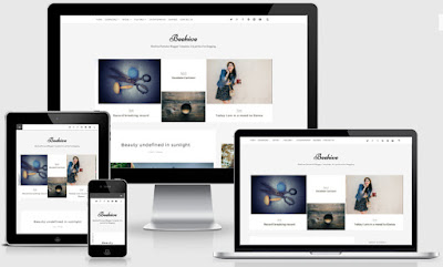 Beehive Personal Responsive Blogger Templates
