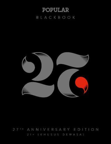 POPULAR Blackbook 27th Anniversary Edition, berisi sebuah panduan bercinta yang berisi 27 gaya dan posisi unik, asyik, dan tentunya menggairahkan | www.insight-zone.com