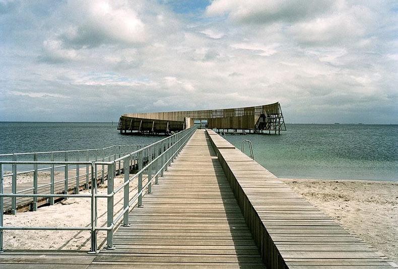 Kastrup, una piscina al aire libre en el mar | Dinamarca