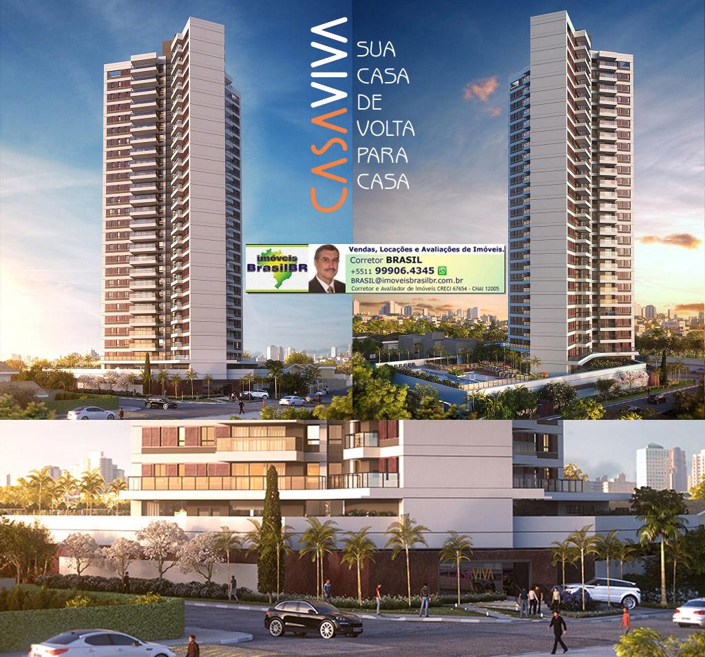 CASA VIVA BKO - Apartamentos de 106 e 145m² no Brooklin, São Paulo, próximo do Morumbi Shopping
