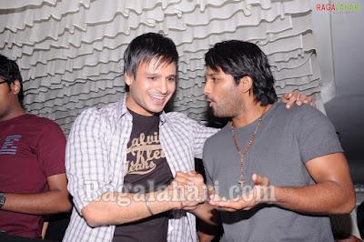 Allu Arjun With Vivek Oberoi