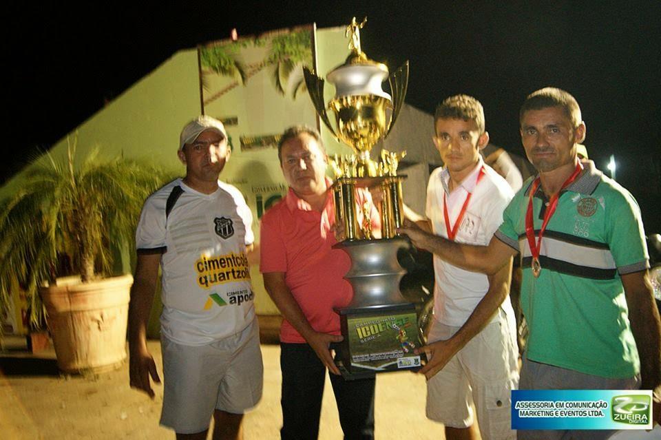 LIMA CAMPOS VICE CAMPEÃO ICOENSE 2014
