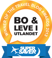 I`m the winner of  the Travel Blog Awards 2013!