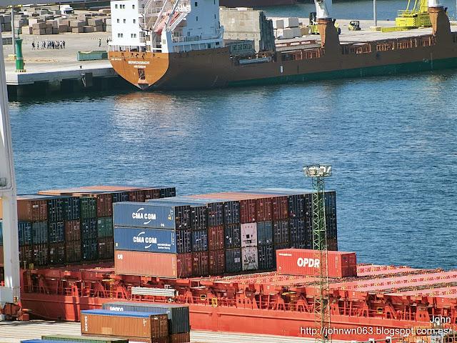 fotos de barcos, imagenes de barcos, alsterdijk, container ship, containero, vigo