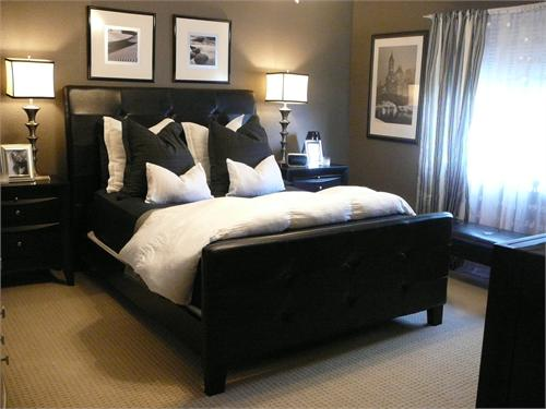 Shabbyhouse designs neutral colour palettes dark vs light for Master bedroom paint color ideas with dark furniture