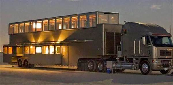 $2,500,000 worth RV exterior and interior views