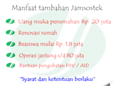 opini indonesia, manfaat tambahan jamsostek