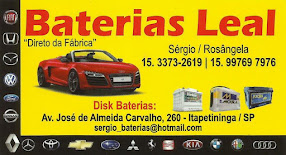 BATERIAS LEAL DIRETO DA FÁBRICA