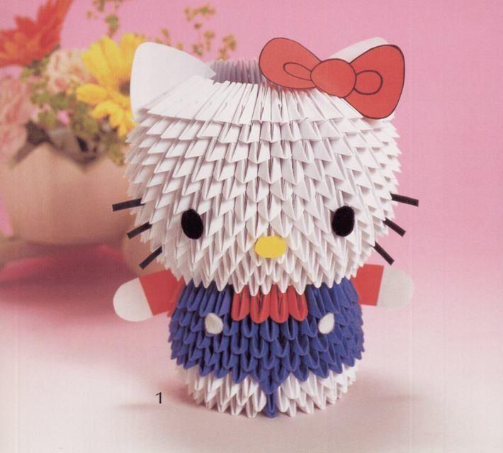 Origami Maniacs: Cute 3D Modular Origami - photo#39