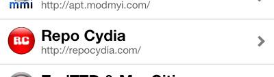 Repo Cydia repository on Sources