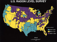 radon level survey
