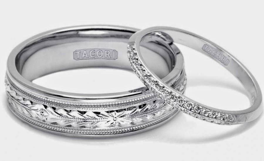 White Gold Wedding Ring Sets Tacori Design pictures hd