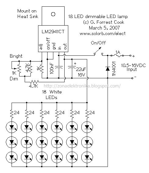 Драйвер 5 ватт светодиода своими руками фото 505