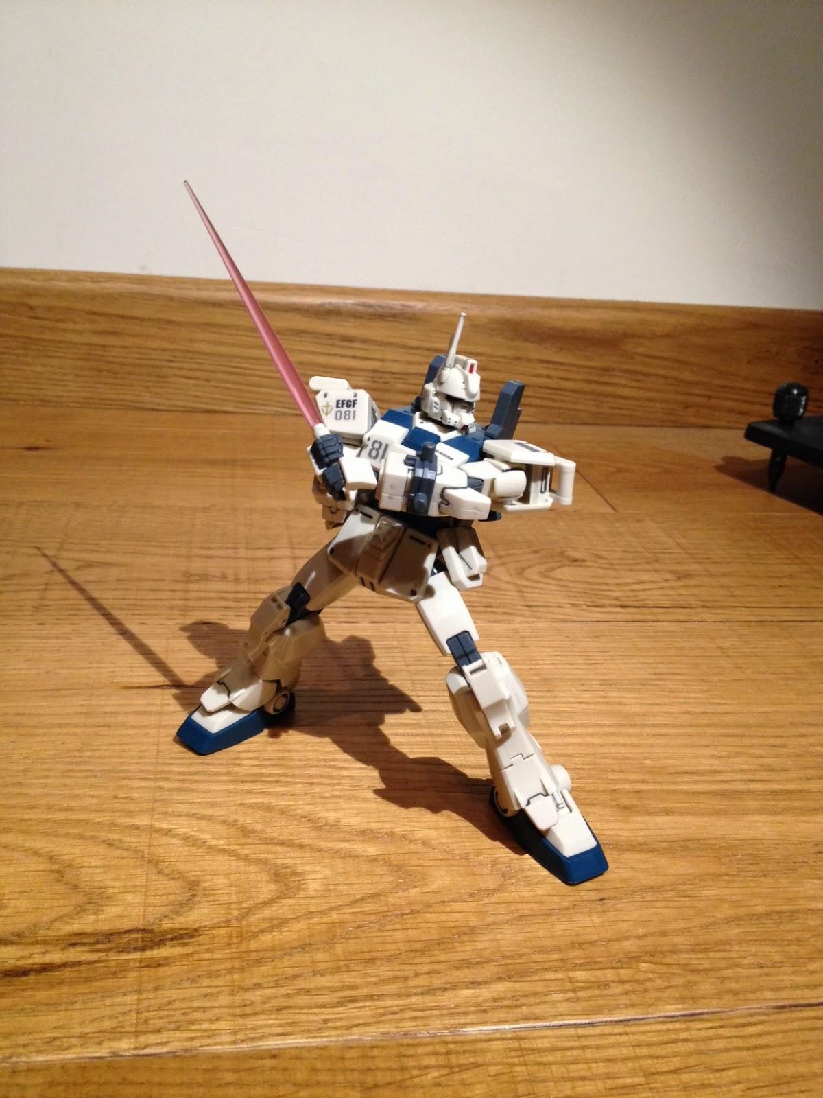 HGUC RX-78(G) Ez8 Ground Gundam GUNPLA