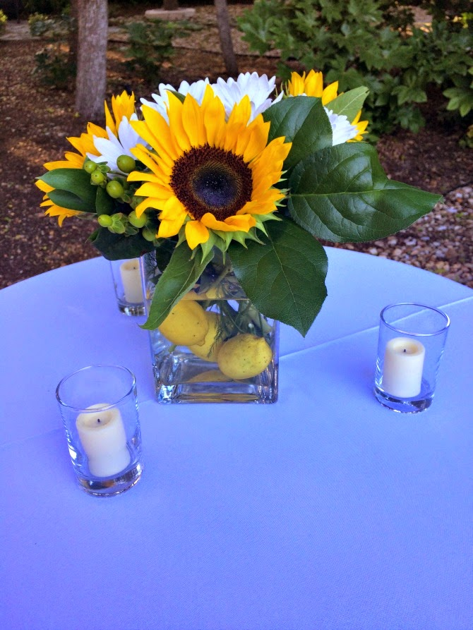 The Holland House: Sunflower Arrangement