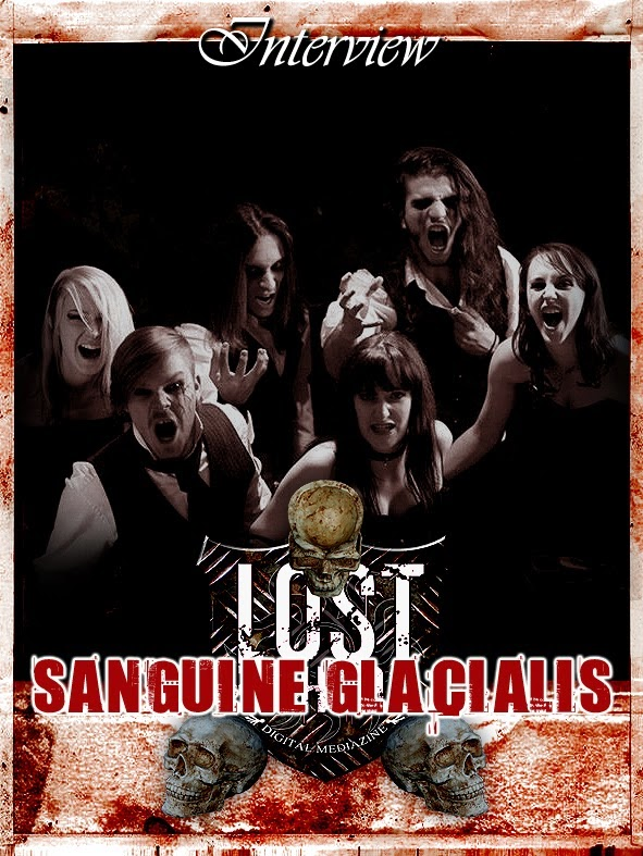 SANGUINE GLACIALIS Interview
